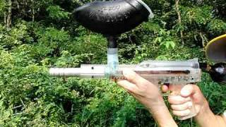 Paintball Gun Firing At 210 Frames Per Second