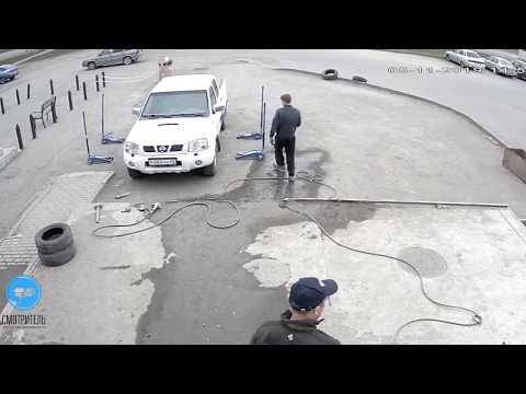 Видеонаблюдение в автосервис в Кемерово