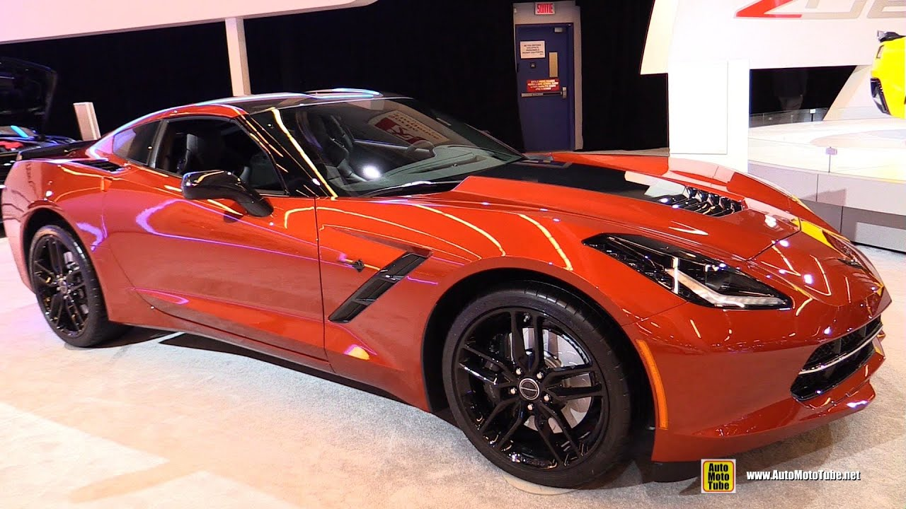 2015 chevrolet corvette stingray z51 exterior and interior walkaround 2015 montreal auto. Black Bedroom Furniture Sets. Home Design Ideas