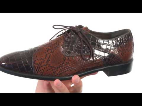 Stacy Adams Rivello Leather Sole Modified Cap Toe Oxford SKU:8742723