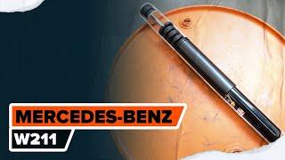 Montaje Kit amortiguadores delanteros MERCEDES-BENZ E-CLASS: vídeo manual