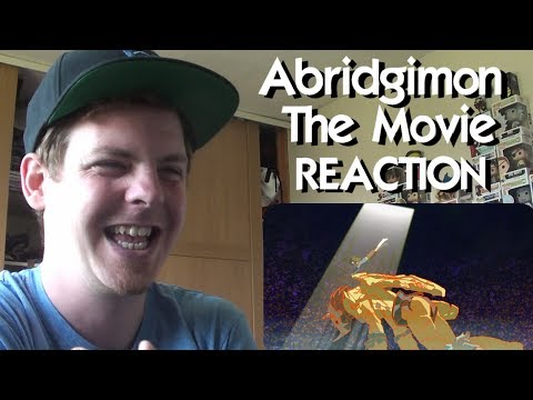 Abridgimon: THE MOVIE  April Fools 2016 REACTION