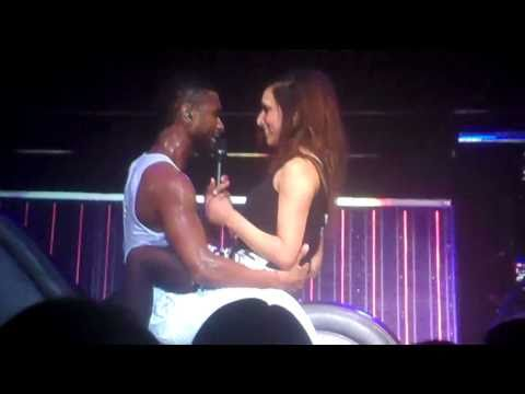 Usher live Liverpool 30/01/2011 - Trading Places