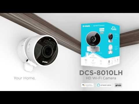 mydlink HD Wi-Fi Camera (DCS-8010LH)