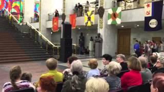 17.04.16 выступление на Поклонной горе  Центральный Музей Великой Отечественной войны 2