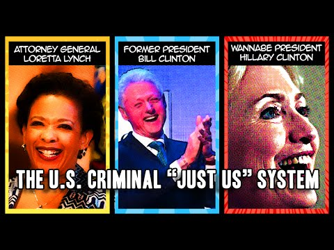 """How the U.S. Criminal """"Just Us"""" System Works (in One Minute)"""