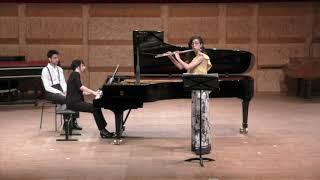 R. Strauss (violin) Sonata in E-flat major op. 18 1st Mov/ Maria Cristina Gonzalez - flute