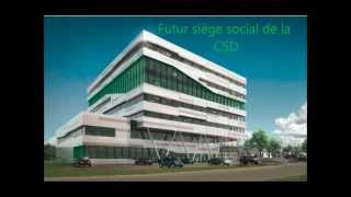 Siège social CSD : ça avance...