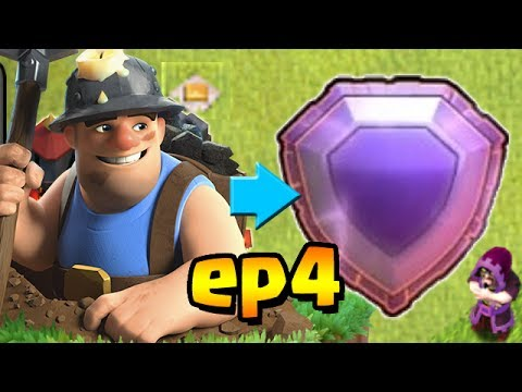 Mass Max Miners Titan League  Th Trophy Push To Legend League Ep Clash Of Clans