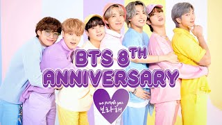 BTS 8th Anniversary | Nobodies To Legends 😢💔