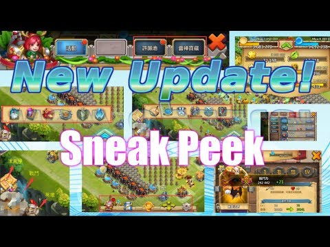 New Update Sneak Peek! Changing Layout! Castle Clash