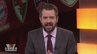 Pre Game Show  Super Euroleague Ολυμπιακός-Ζαλγκίρις Κάουνας, Παρασκευή 15/11