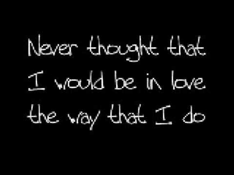I never thought ;D  +lyrics