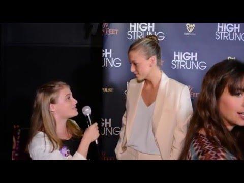 Keenan Kampa Interview at High Strung LA Premiere