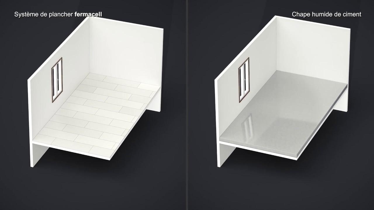 principaux avantages d 39 une chape s che fermacell vs chape. Black Bedroom Furniture Sets. Home Design Ideas