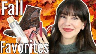 My Fall Must Haטes 2020    Favorite Makeup, Skincare & More!