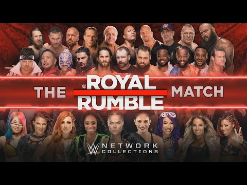 The Royal Rumble Match (WWE Network Collection Intro)