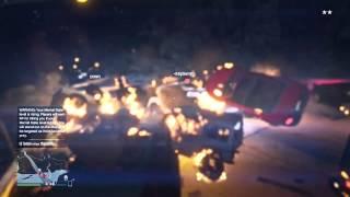 GTA V Chaos - Biggest Explosion Ever