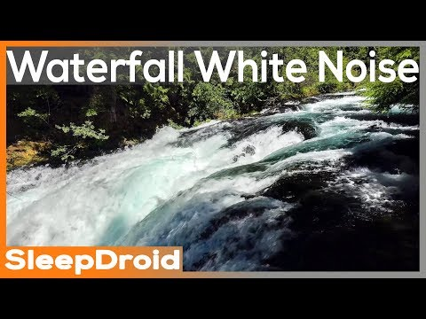 Nature Sounds ►10 hours of Relaxing Waterfall HD Video. Waterfall white noise. Water sounds Tinnitus