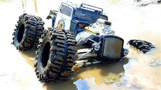 Summit Traxxas extreme test  ,Mud,Hill climbing,Rock-crawler,Waterproof