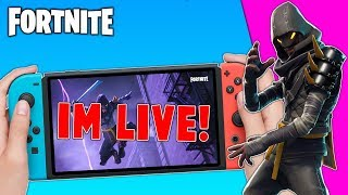 🔴 Best Fortnite Nintendo Switch Player // Solo Matches // Fortnite Gameplay+ Tips!!