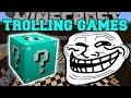 Minecraft: ETERNAL FROST TROLLING GAMES - Lucky Block Mod - Modded Mini-Game