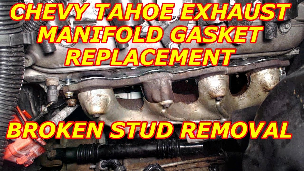 Chevy tahoe exhaust manifold removal broken stud removal youtube chevy tahoe exhaust manifold removal broken stud removal publicscrutiny Gallery