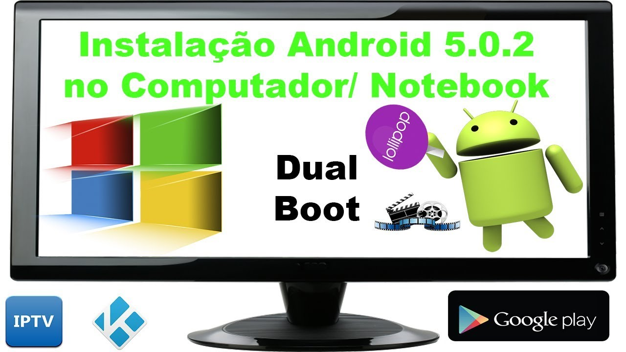 Instalação do Android 5 02 no PC (Dual Boot) - Tutorial!!!