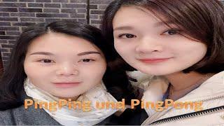 Feuertopf essen/Ping Pong spielen/Tischtennis spielen/Shanghai