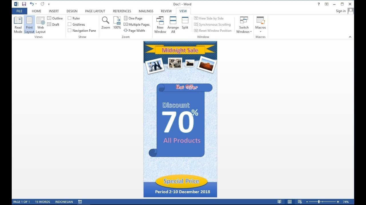 microsoft word products