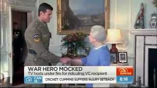 Victoria Cross recipient ridiculed
