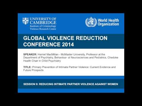 Harriet MacMillan - Primary Prevention of Intimate Partner Violence