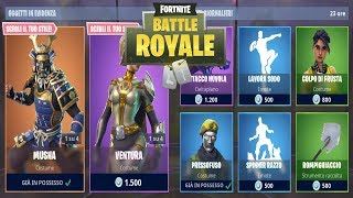 FORTNITE *SHOP* 26/09 SKIN MUSHA - VENTURION - RODEO RAZZO