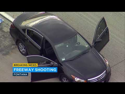2 injured in shooting on 210 Fwy in Fontana | ABC7