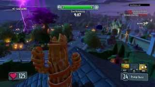 Plants vs. Zombies: Garden Warfare - Игровой процесс (Растения) HD [1080p] (PS4)