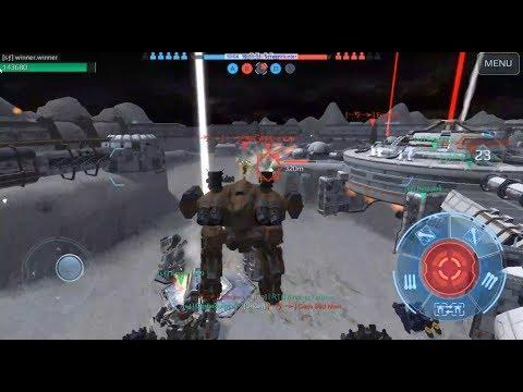 War Robots - Squad Journal #29- Beacon Rush - Steel Forge [sƒ] vs Spartans