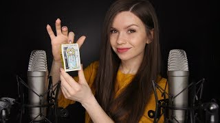 ASMR -  Fast Tapping with Fingertips & Whispering
