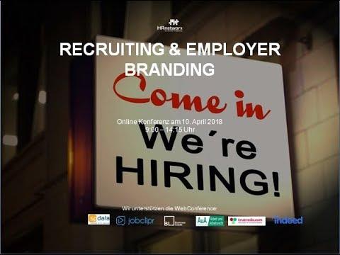 WebConference 'Recruiting und Employer Branding' am 10  April 2018 edit