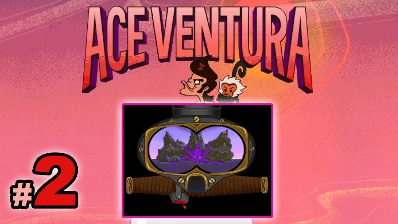 """Let's Play: Ace Ventura odc. 2 – """"Skakanie po wielorybach"""""""