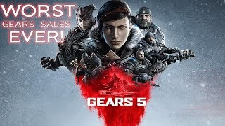 Gears 5 Confirmed Worst Sales In Franchise History: Xbox One Sales Plummet To New Low
