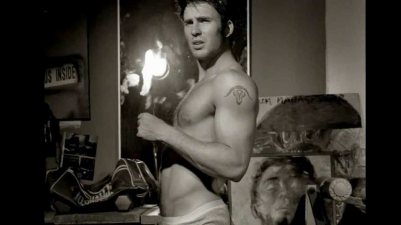 chris evans photoshoot naked