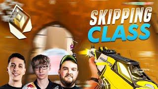SKIPPING CLASS TO CAŔRY FIRST STRIKE CHAMPIONS ft. (TenZ, Hiko, Steel)