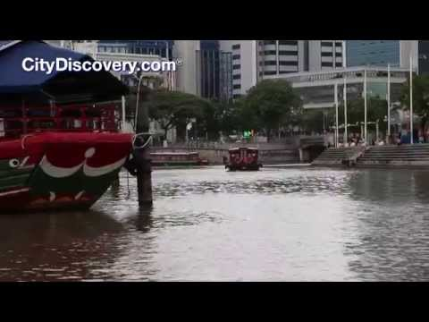 Singapore River Cruise by Bumboat
