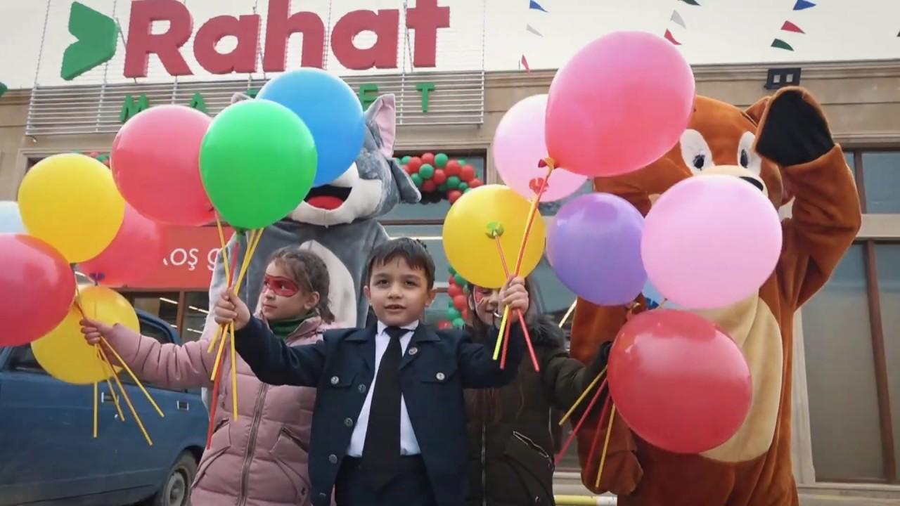 Rahat Market Sayca 37 Ci Magazasini Mustərilərinin Ixtiyarina Verdi Video