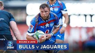 Bulls v Jaguares | Super Rugby 2019 Rd 8 Highlights