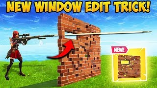 *NEW* SMALL WINDOW EDIT TRICK! - Fortnite Funny Fails and WTF Moments! #372