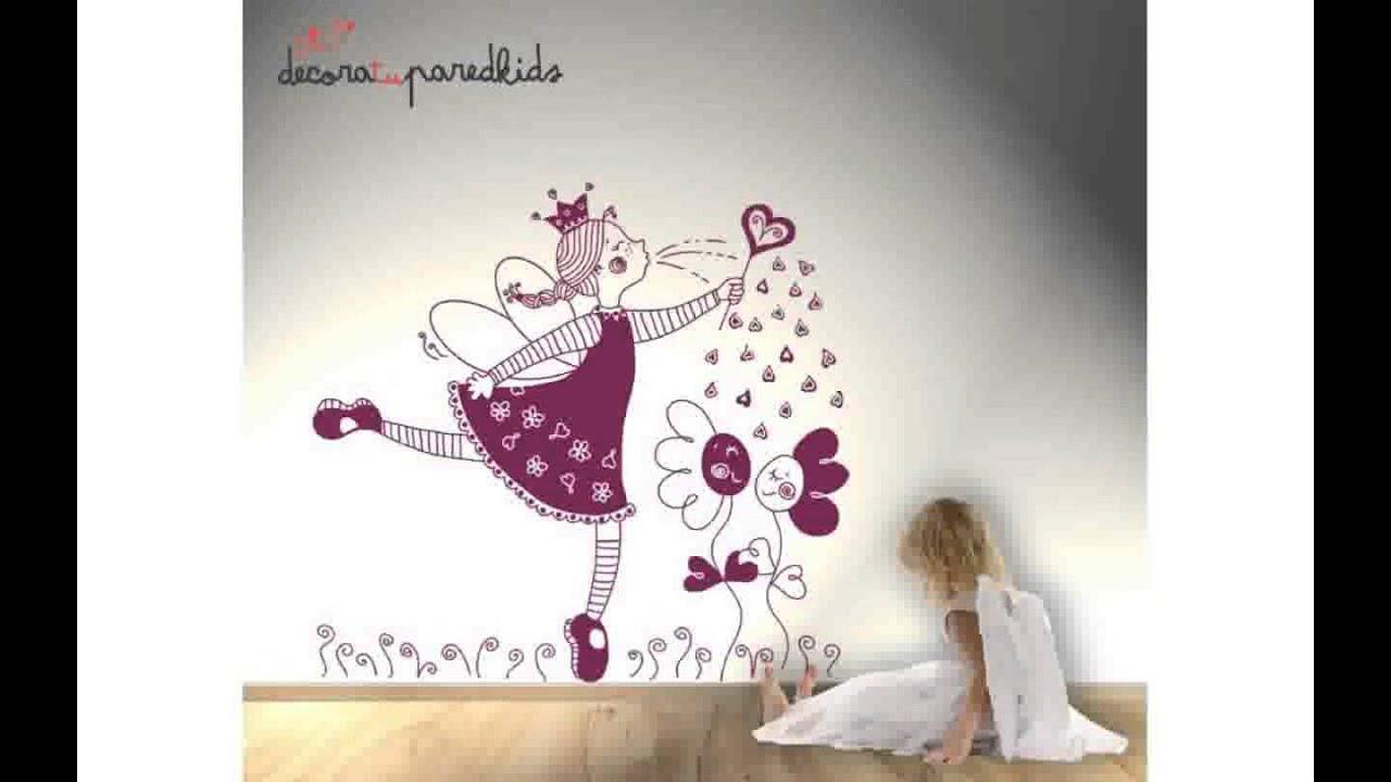 Vinilos hadas infantiles youtube for Vinilos infantiles