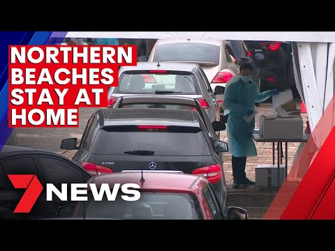Sydney's Northern Beaches is now in a three day official lockdown | 7NEWS