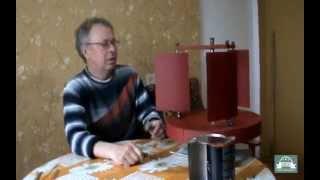 Идеи Николая Анатольевича - Ветрогенератор с изменяемым углом лопастей - Часть 1