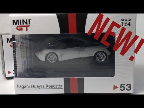 MINI GT Pagani Huayra Roadster